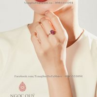 Nhẫn Ruby Oval 2.418.000 1.329.0003 1