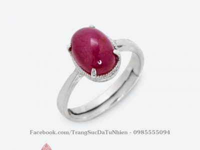 Nhẫn Ruby Oval 2.418.000 1.329.0003 2